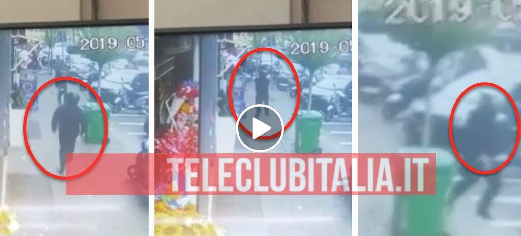 video agguato napoli piazza nazionale noemi