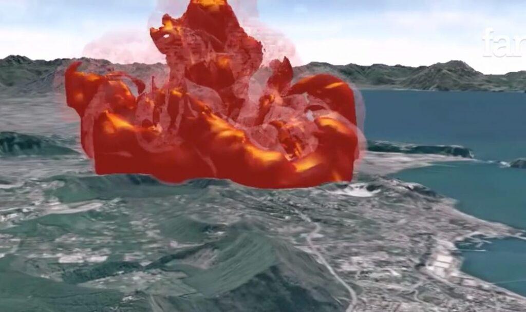 eruzione campi flegrei piano evacuazione