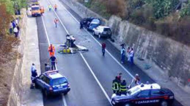 incidente ss166 morta