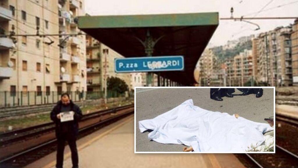 morto metro piazza leopardi fuorigrotta