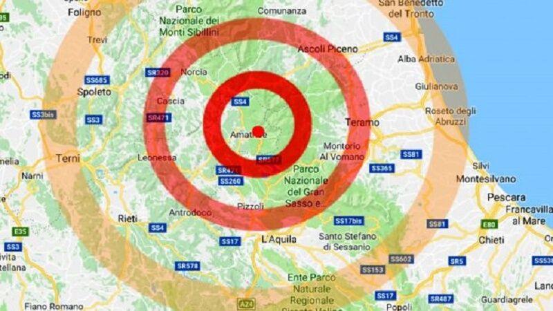 terremoto scossa amatrice oggi 10 giugno