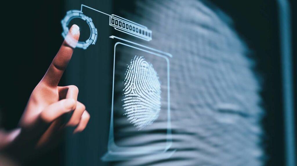 Cartellino impronta digitale