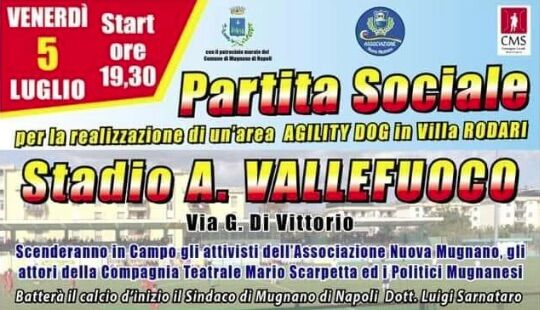 Partita solidale Mugnano