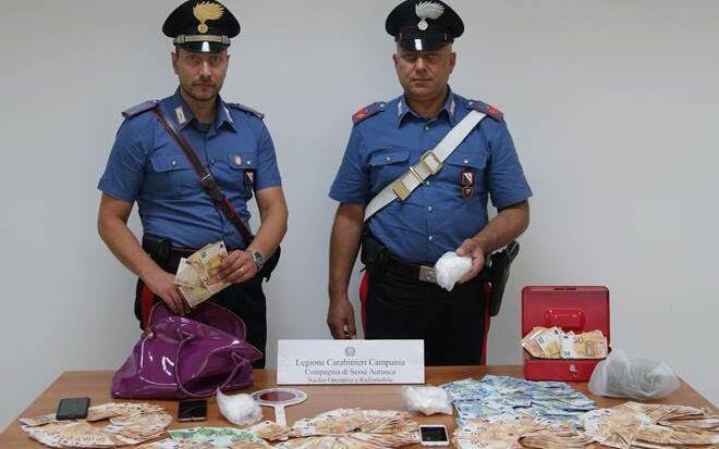 cocaina e 20mila euro