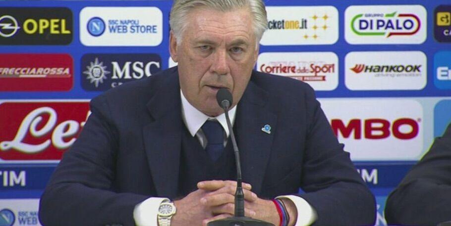 ancelotti dimaro conferenza stampa diretta