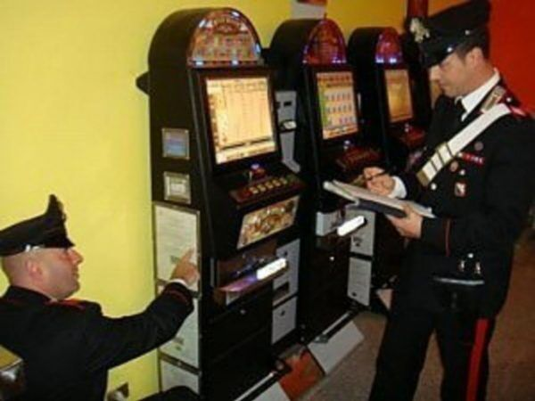 carabinieri slot machine