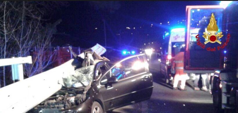 incidente catania asse servizi morto