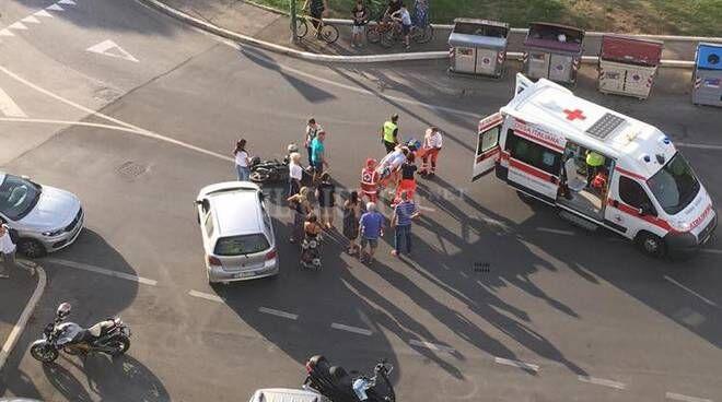 incidente roma via carmelo bene morto