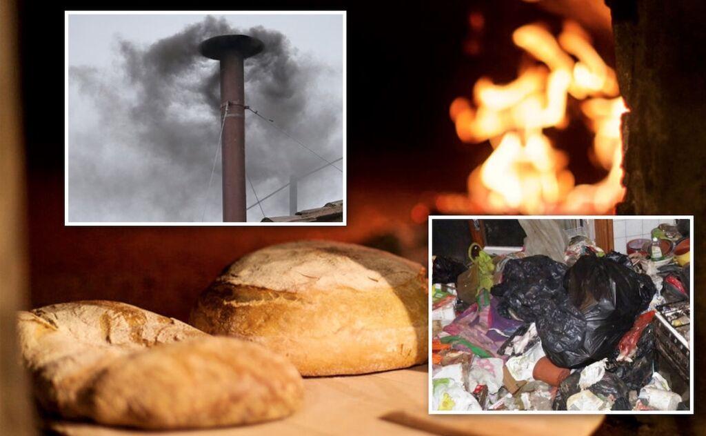 marigliano rifiuti bruciati forno