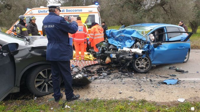 morto incidente taviano matino