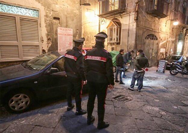 quartieri spagnoli arresti spaccio