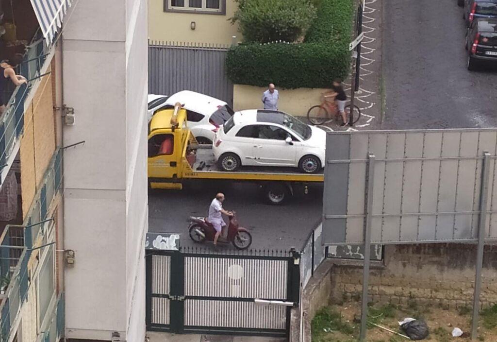 giugliano parcheggio divieto di sosta