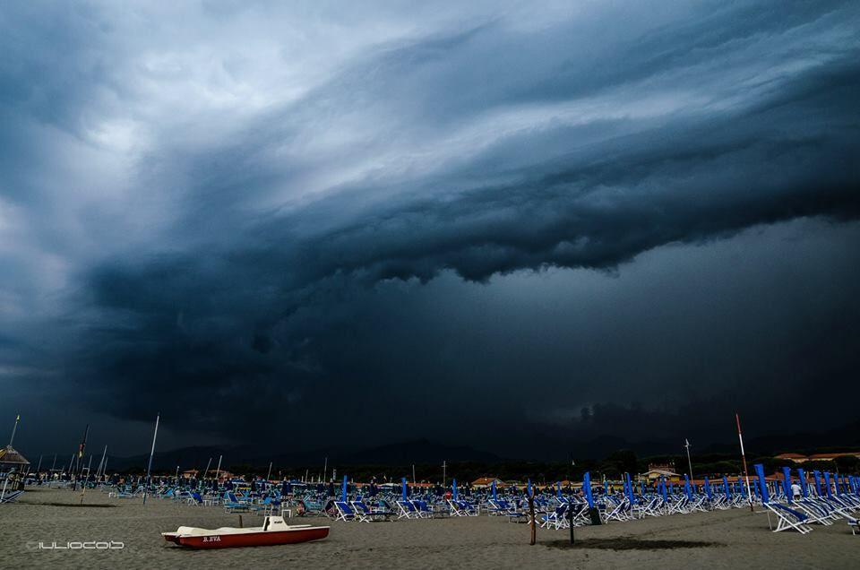 meteo temporali previsioni campania fine agosto