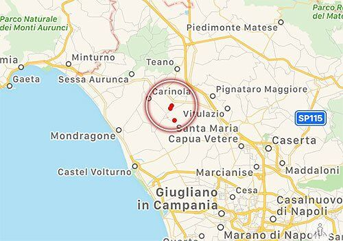 terremoto francolise oggi 31 agosto