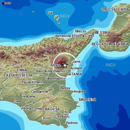 terremoto sicilia zafferano etnea 21 agosto