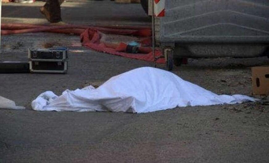 Pescopagano trovato morto in strada da un passante