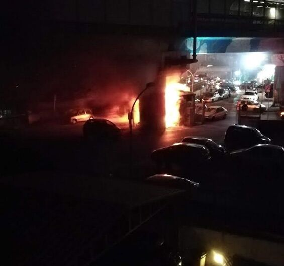 chiaiano incendio metro