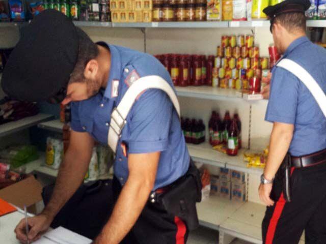 nas carabinieri market giugliano