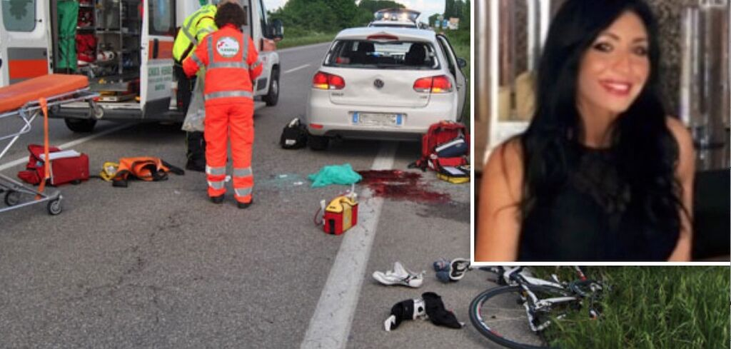 incidente appia ciclista san tammaro