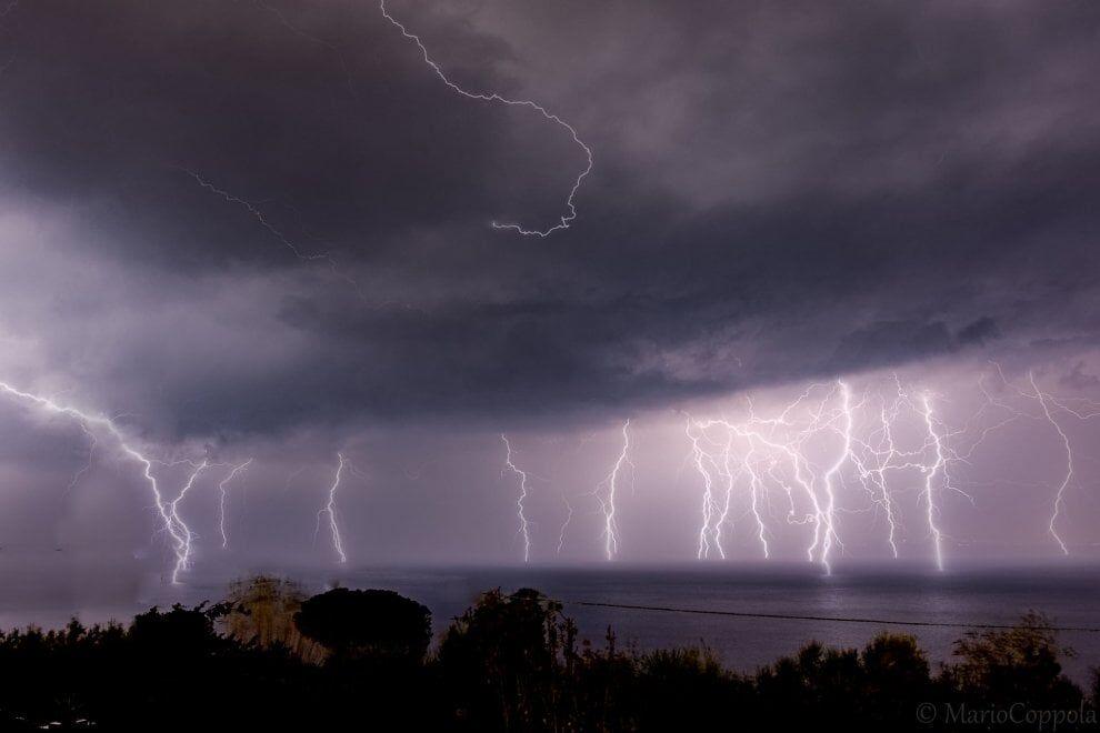 meteo previsioni campania napoli 3 4 5 ottobre temporali
