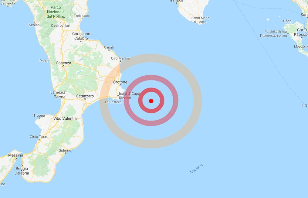 terremoto calabria 31 ottobre