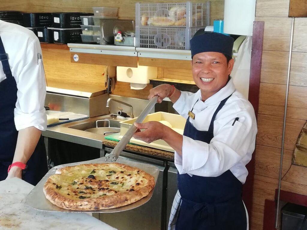 pizza thailandia
