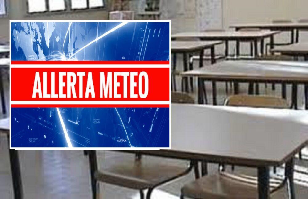 scuole allerta meteo