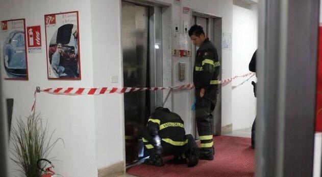 roma cade da ascensore morto