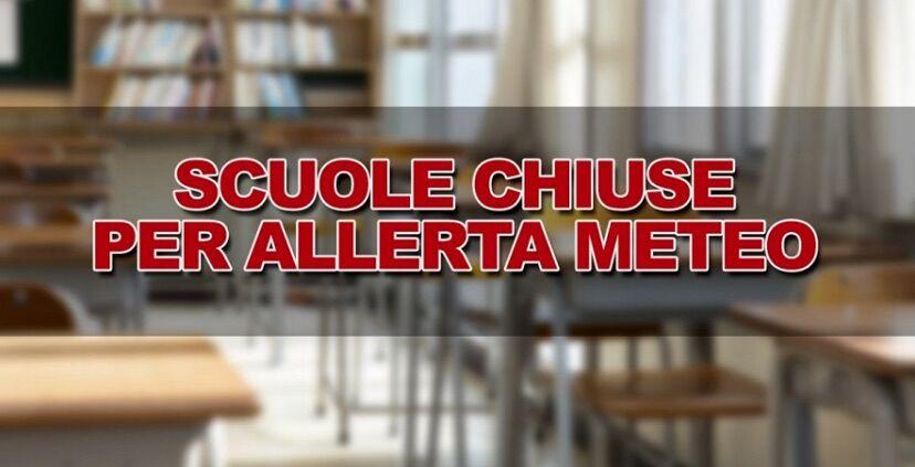 scuole chiuse napoli allerta meteo 6 novembre