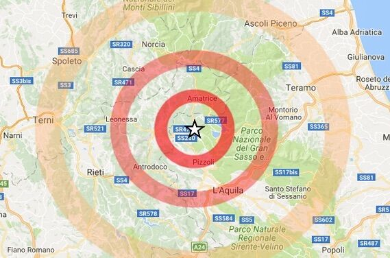 terremoto l'aquila 7 novembre