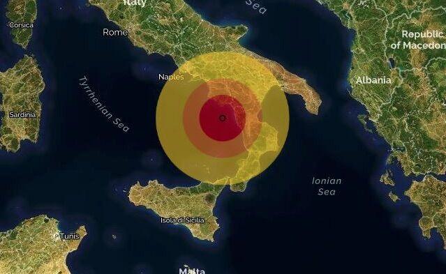 terremoto marina di camerota oggi 27 novembre
