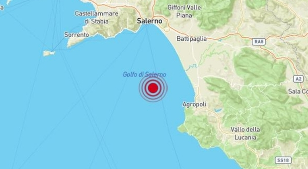 Terremoto Campania oggi