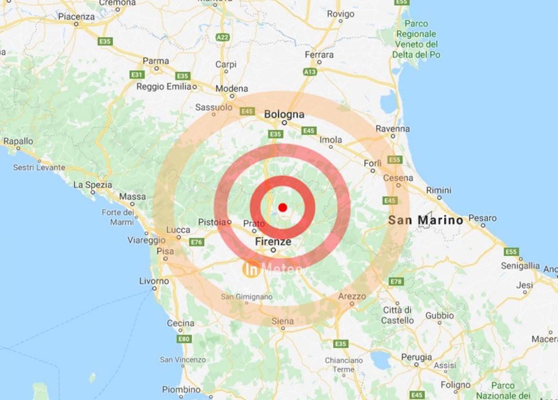 terremoto firenze oggi 13 dicembre