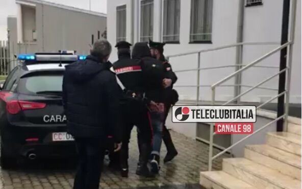 carabinieri-marano rapina passaggio