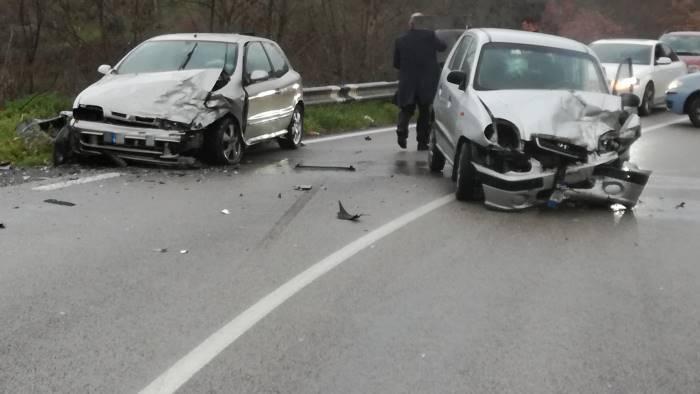 incidente statale 90 bis un morto benevento