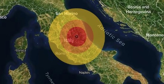 terremoto accumoli Rieti