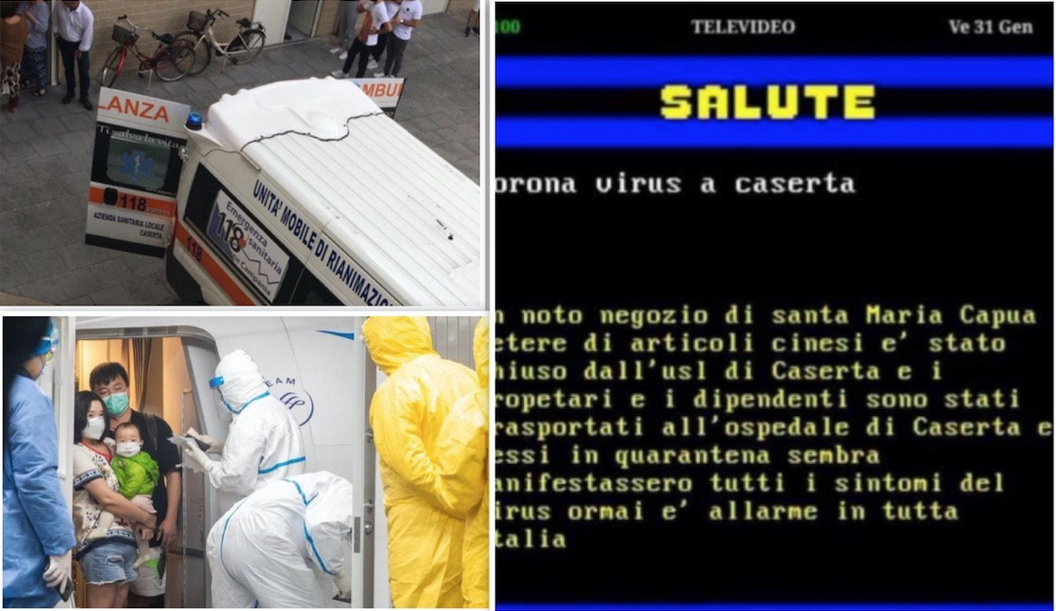 coronavirus santa maria capua vetere televideo fake news