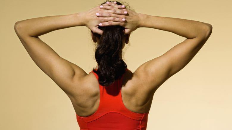 Allenamento spalle fitness