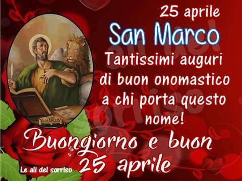 San Marco frasi buon onomastico