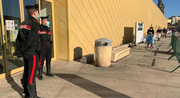 coronavirus carabinieri bari siringa arrestato