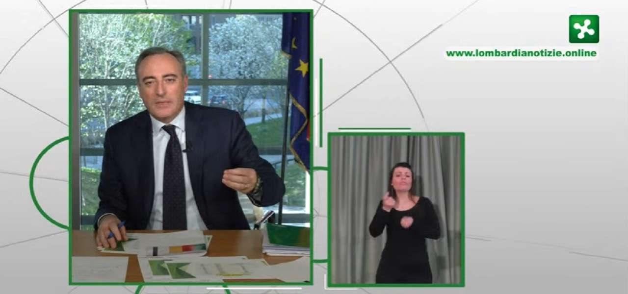 diretta conferenza regione lombardia 29 aprile bollettino