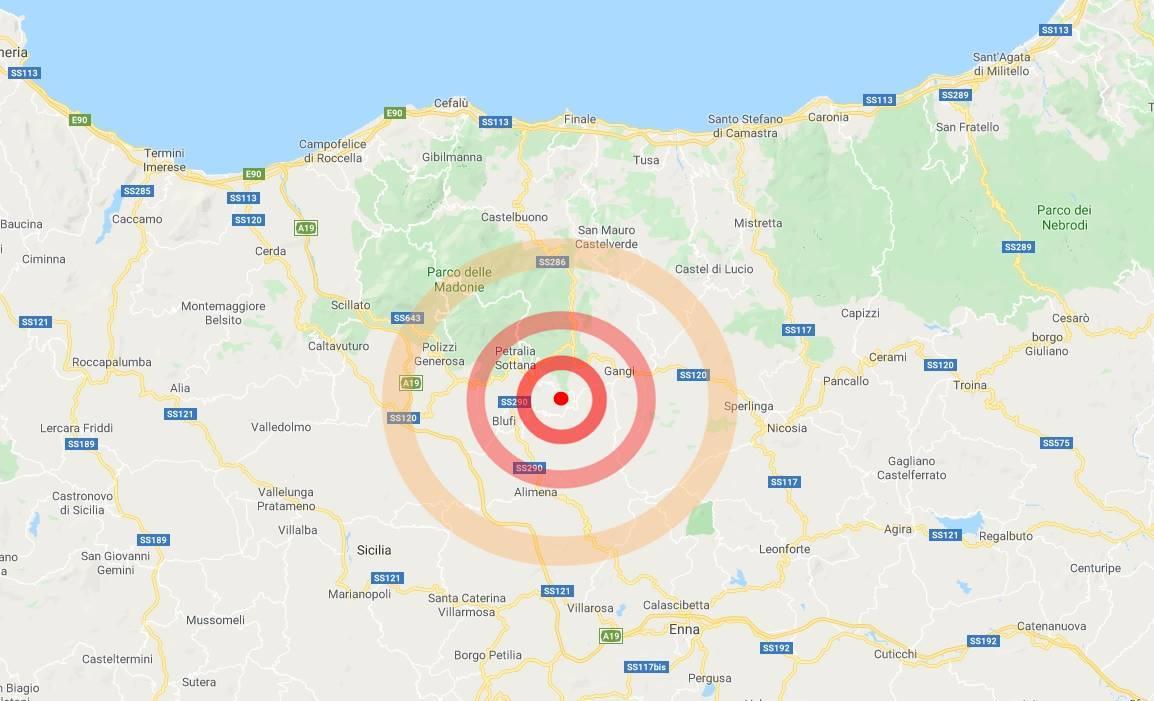 terremoto bompietro 24 aprile