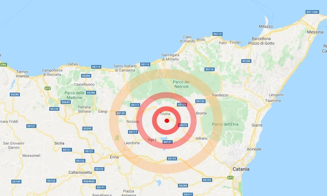 terremoto troina oggi 23 aprile