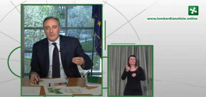 conferenza regione lombardia facebook bollettino