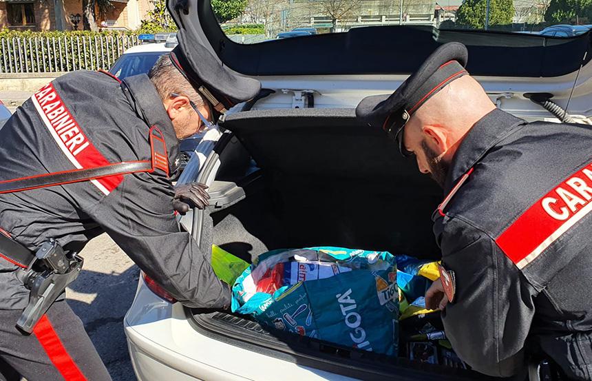 giugliano arrestato via san nullo droga in auto