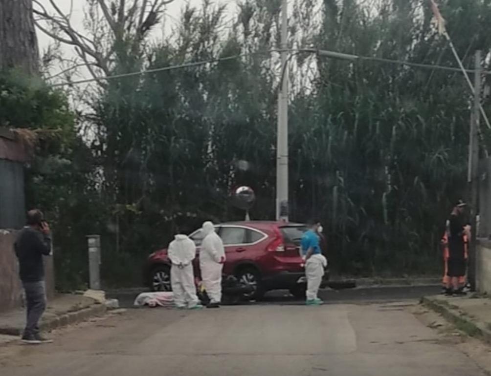 giugliano incidente via staffetta lago patria