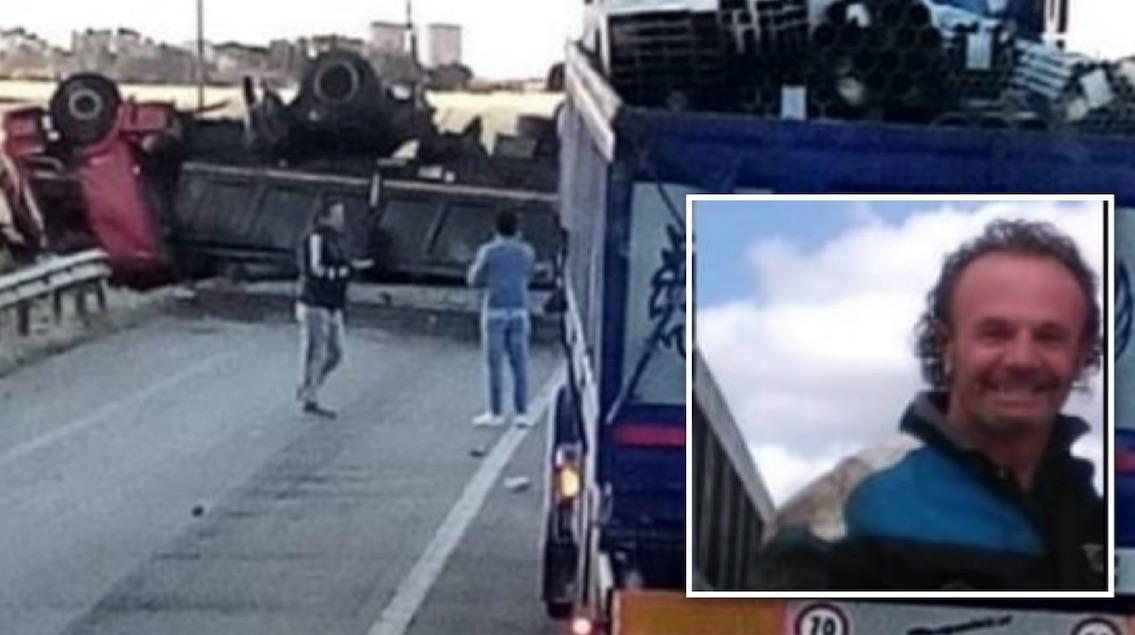 san severo giovanni li quadri morto incidente statale 16