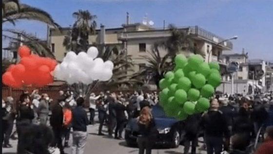 funerali Saviano focolaio