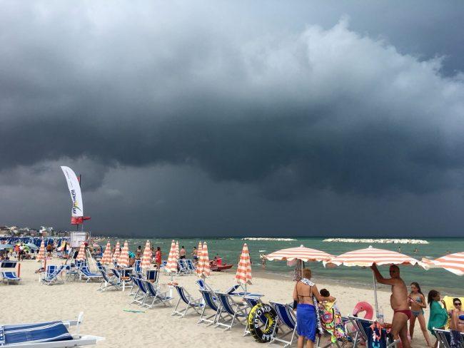 temporali fine maggio previsioni meteo campania