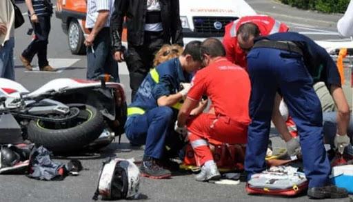 pontecagnano incidente morto 37enne moto